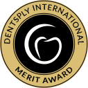 Dentistry international merit award logo